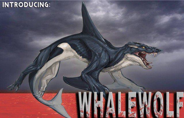 Sharktopus Whalewolf