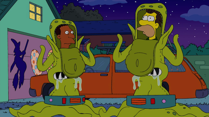 The Simpsons: Halloween of Horror - S027E04 (2015)